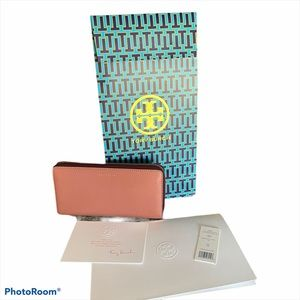 TORY BURCH Perry colorblock zip continental wallet